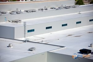 Commercial Roof That could Benefit From Acrylic Roof Coatings