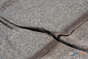 Roof Damage Found During a Commercial Roof Inspection