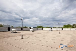 Flat Roof In Need of Office Building Roof Repair