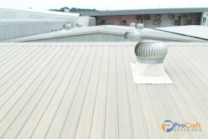 Commercial Steel Roofing System
